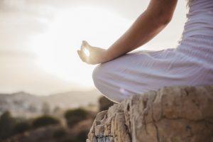 Mindfulness meditation kvinder